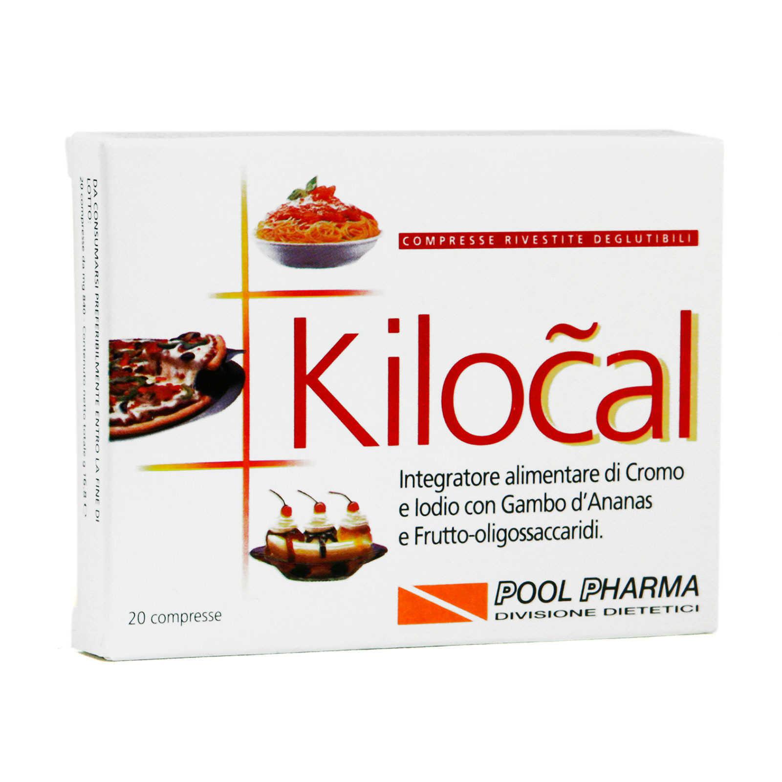 Kilocal - 20 compresse - Integratore dietetico