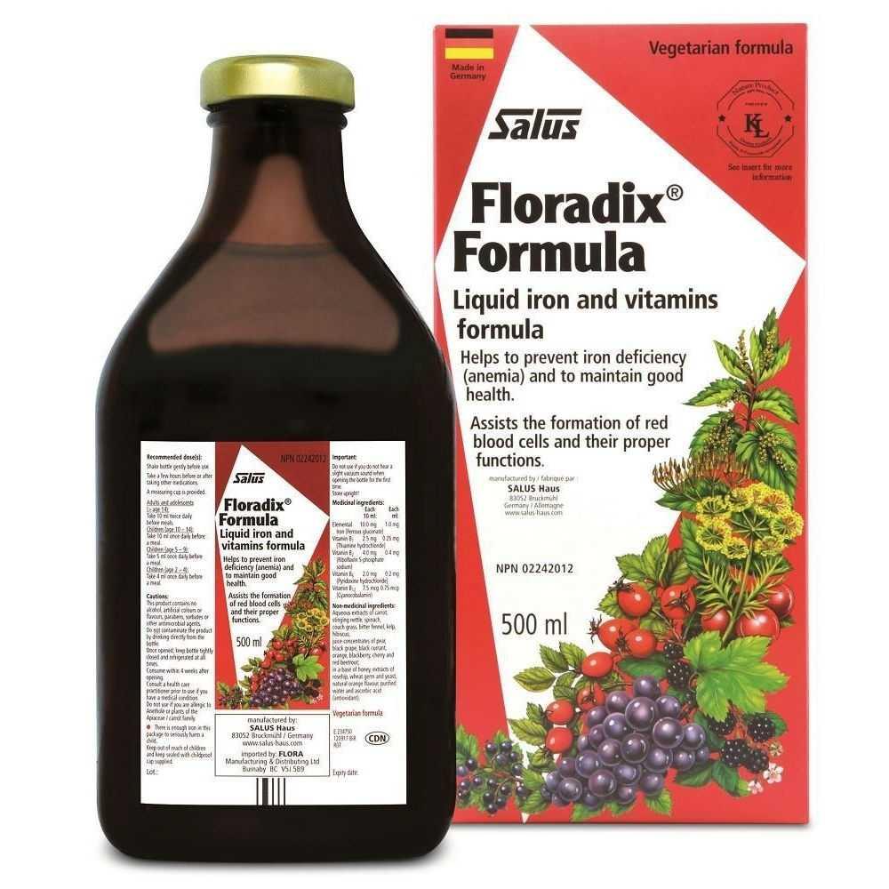 Salus - Floradix - 500 ml