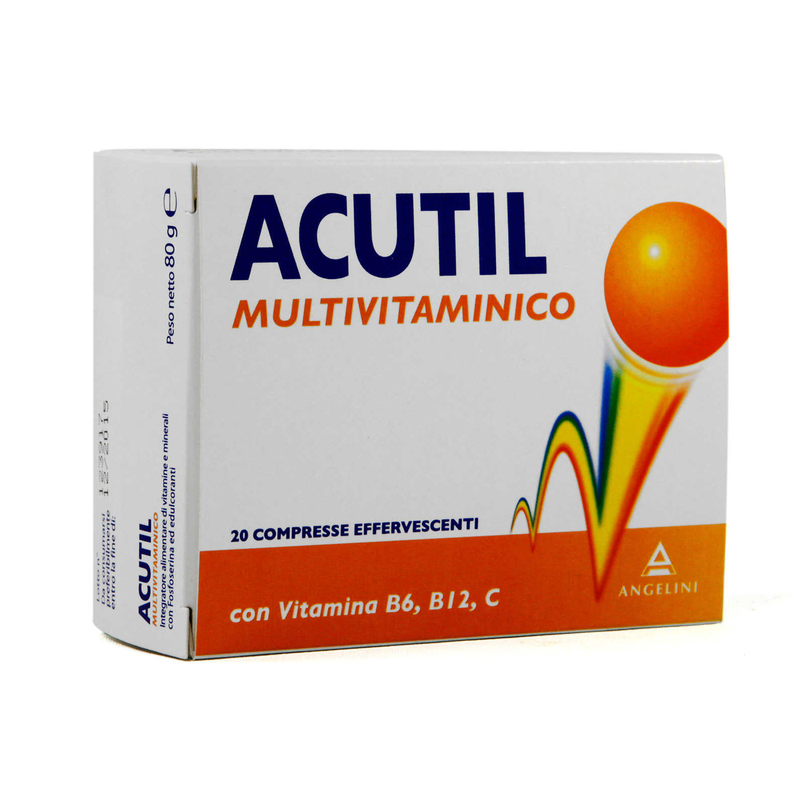 Acutil - Integratore Multivitaminico - Compresse Effervescenti