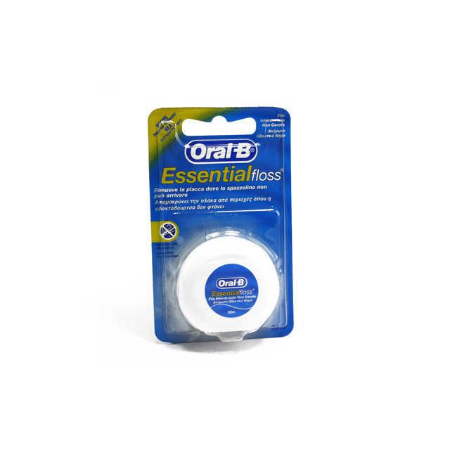 Oral-b - Filo Interderdante - Essential Floss - Non Cerato