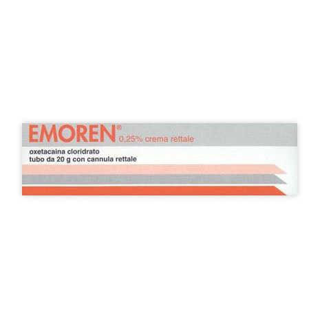 Emoren - EMOREN*RETT CREMA 20G 0,25%