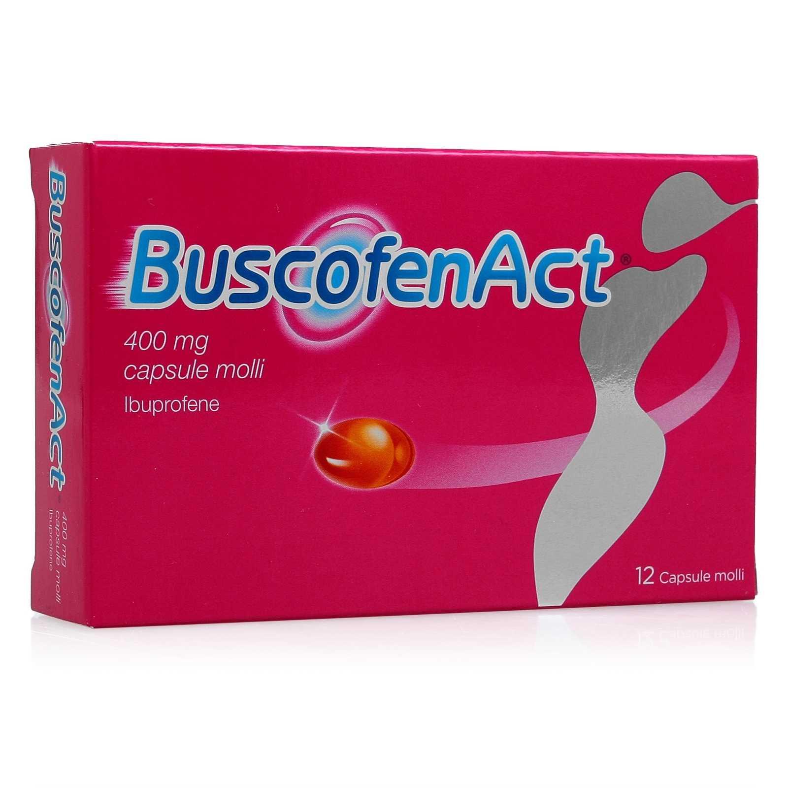 Buscofen - Act - 12 capsule