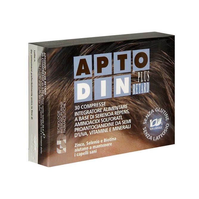 Aptodin - Integratore alimentare a base di Serenoa Rapend - Retard