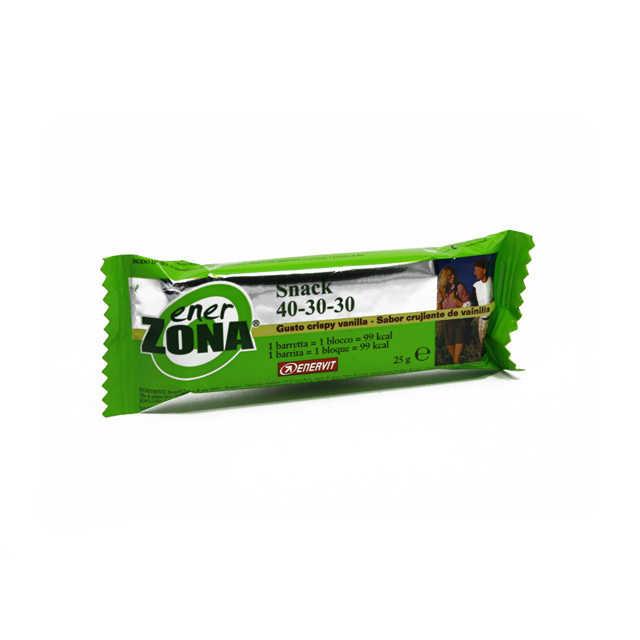 Enerzona - Barretta gusto crispy vanilla - 1 blocco