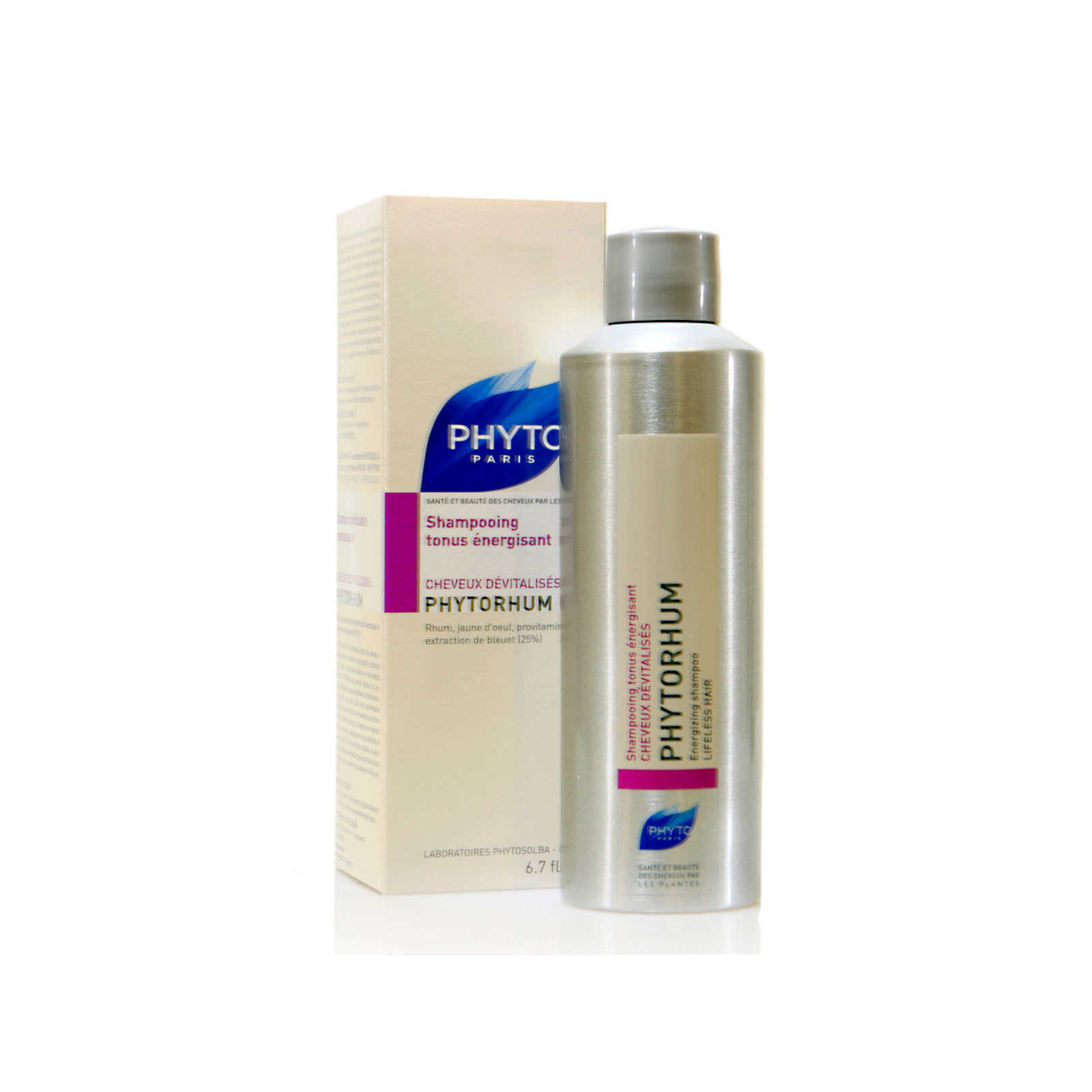 Phyto Paris - Phytorhum - Shampoo rinforzante ed energizzante