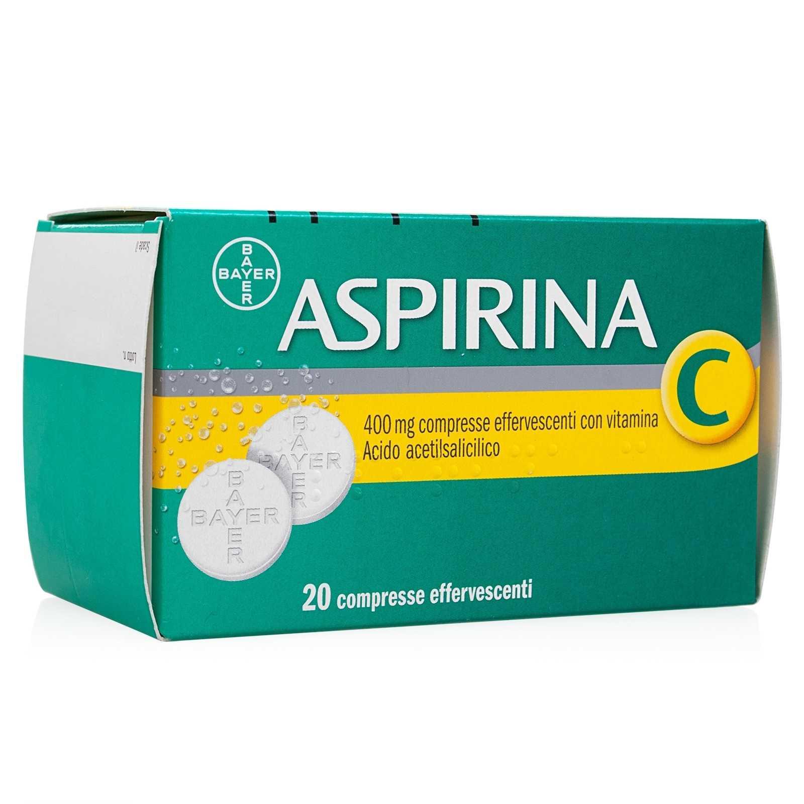 Aspirina - C - Effervescente 20 Compresse