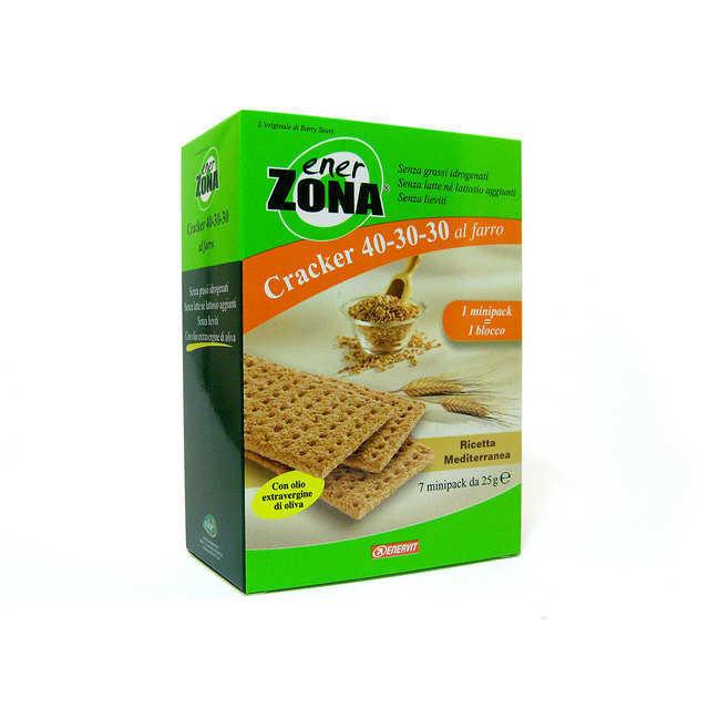 Enerzona - Cracker al farro - Ricetta mediterranea
