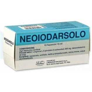 Neoiodarsolo - NEOIODARSOLO*OS 10FL 15ML
