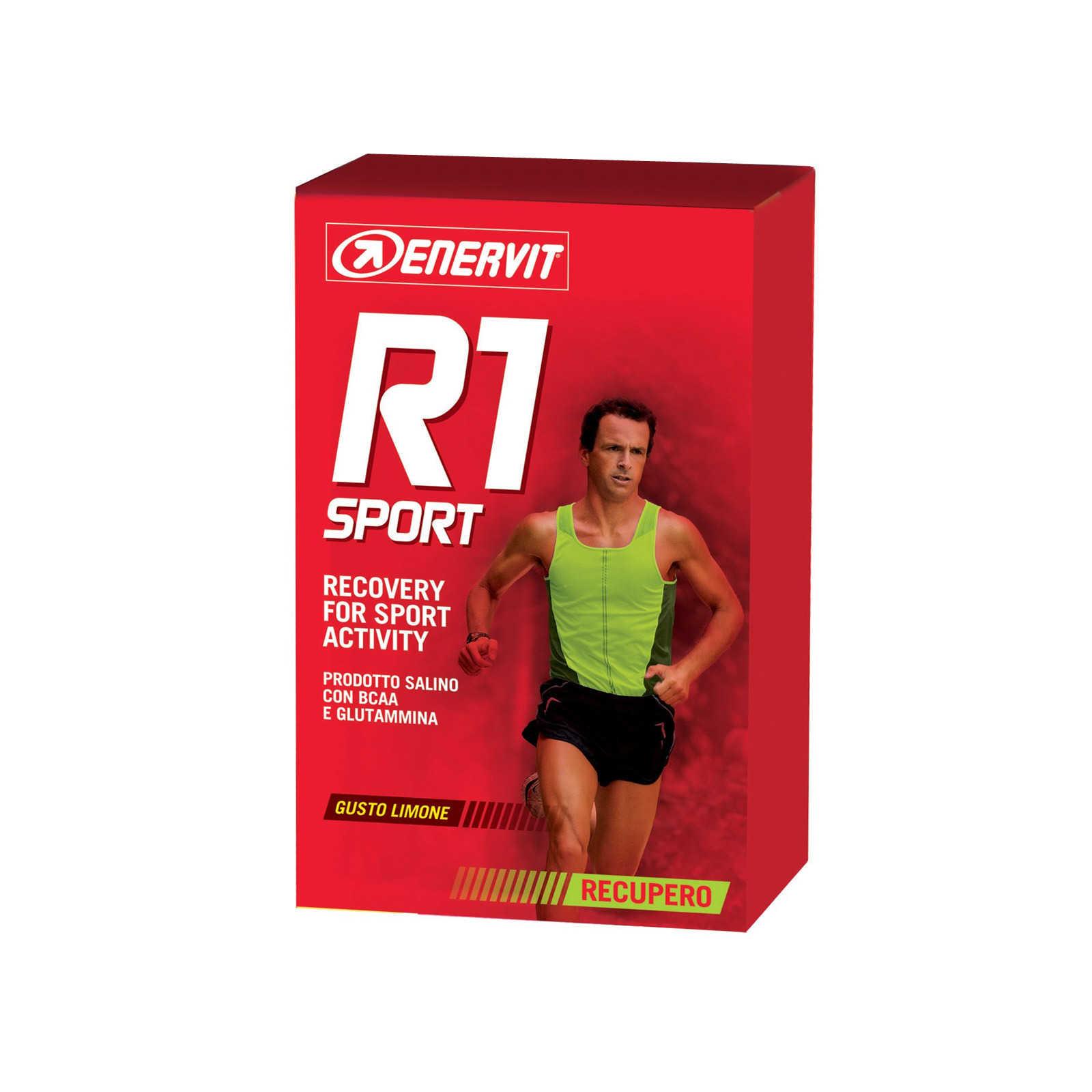 Enervit - R1 Sport - Bustine gusto limone