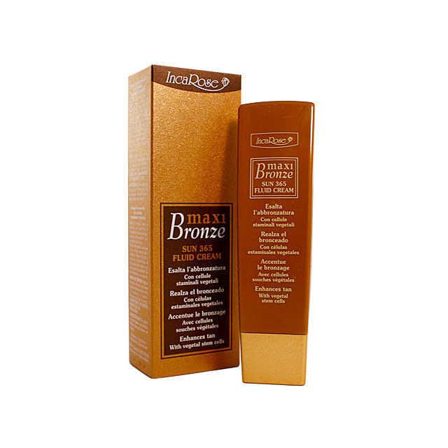 Incarose - Maxi Bronze - Sun 365 Fluid Cream