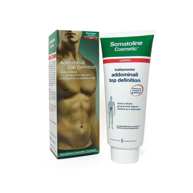 Somatoline Cosmetic Uomo - Addominali Top Definition 400ml.