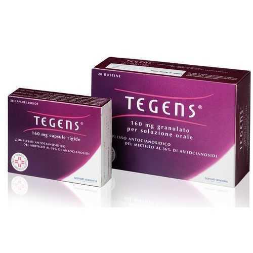 Tegens - TEGENS*20CPS 160MG