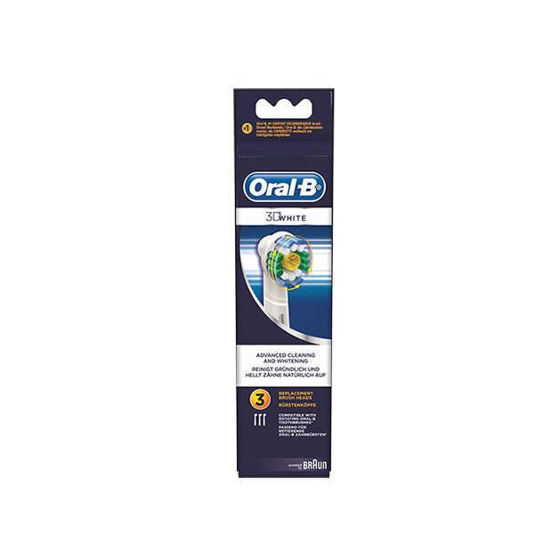 Oral-b - Testine di Ricambio- 3D White