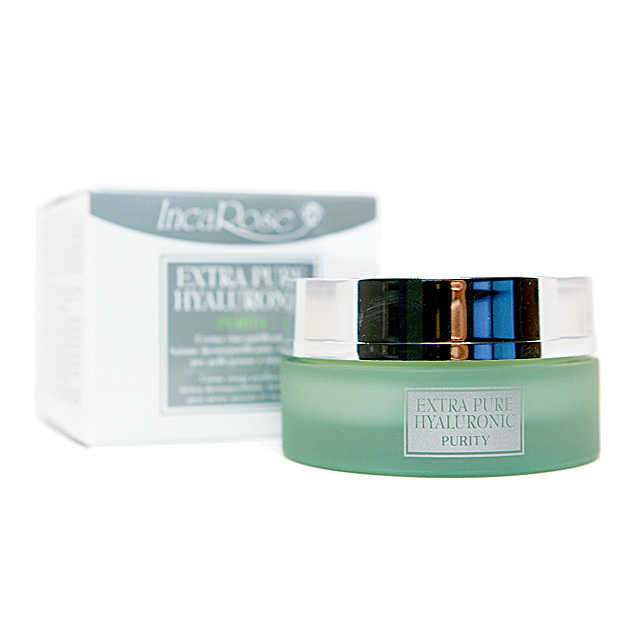 Incarose - Crema viso purificante per pelli grasse - Extra Pure Hyaluronic - Purity