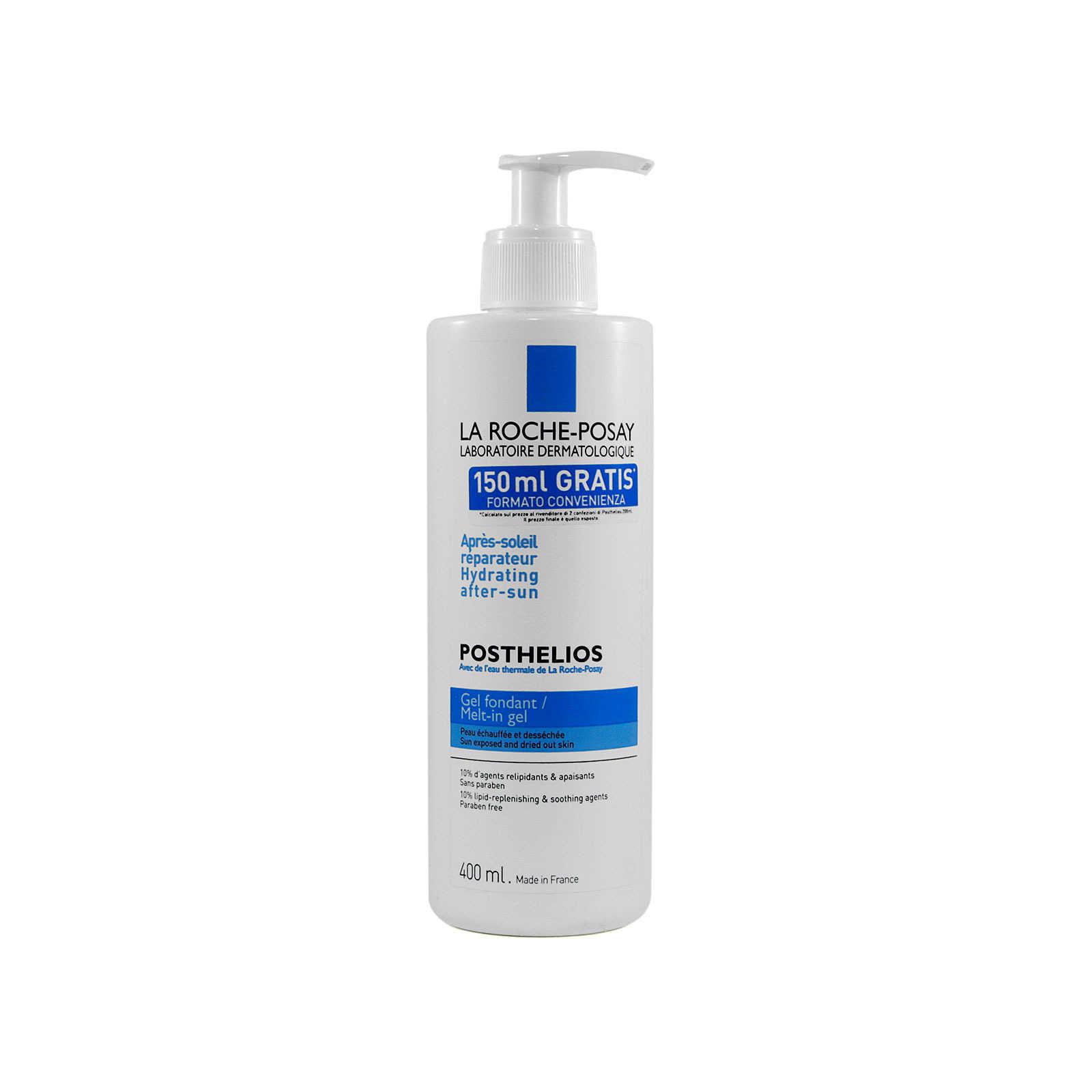 La Roche-posay - Crema Doposolo per pelli disidratate - Posthelios - Gel Fondant - 400ml