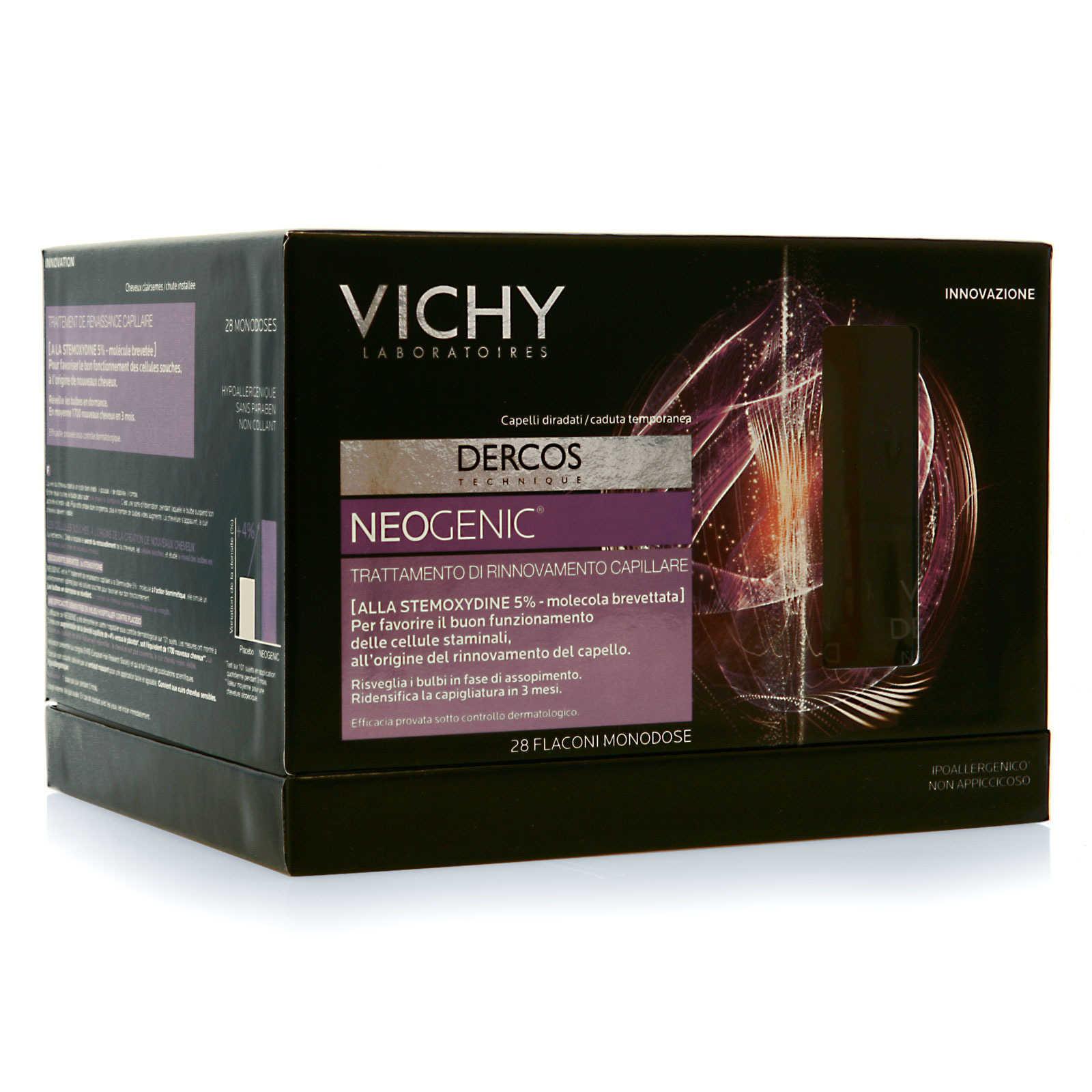Vichy - Fiale Anticaduta dei capelli - Dercos - Neogenic ...