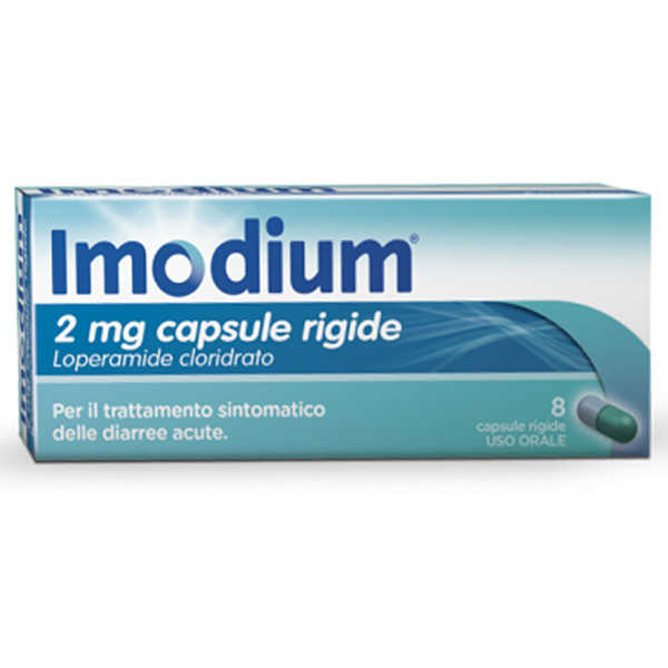 Imodium - IMODIUM*8CPS 2MG
