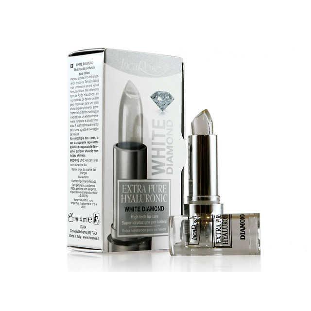 Incarose - Stick per idratazione delle labra - Extra Pure Hyaluronic - White Diamond