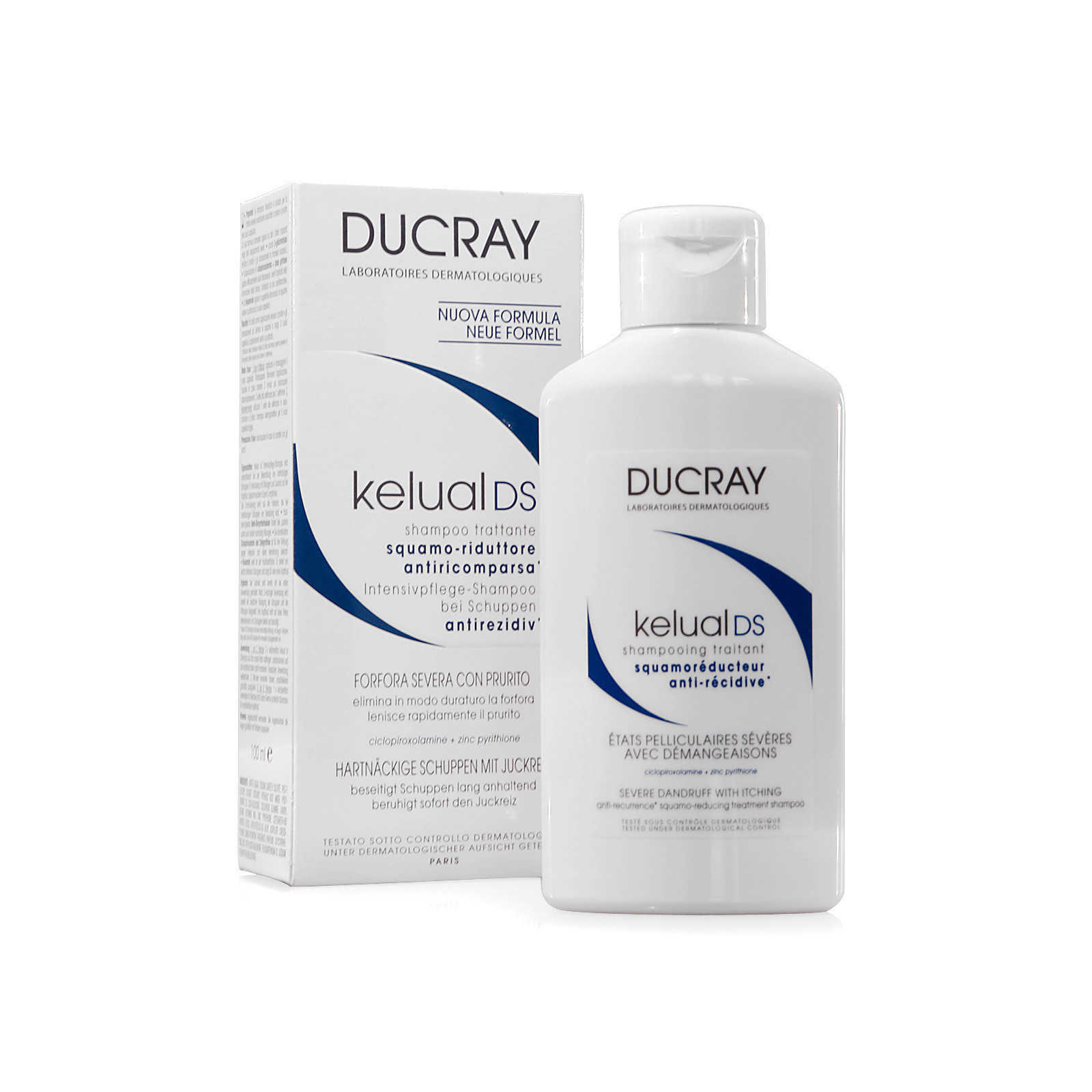 Ducray - Kelual DS - Shampoo Trattante