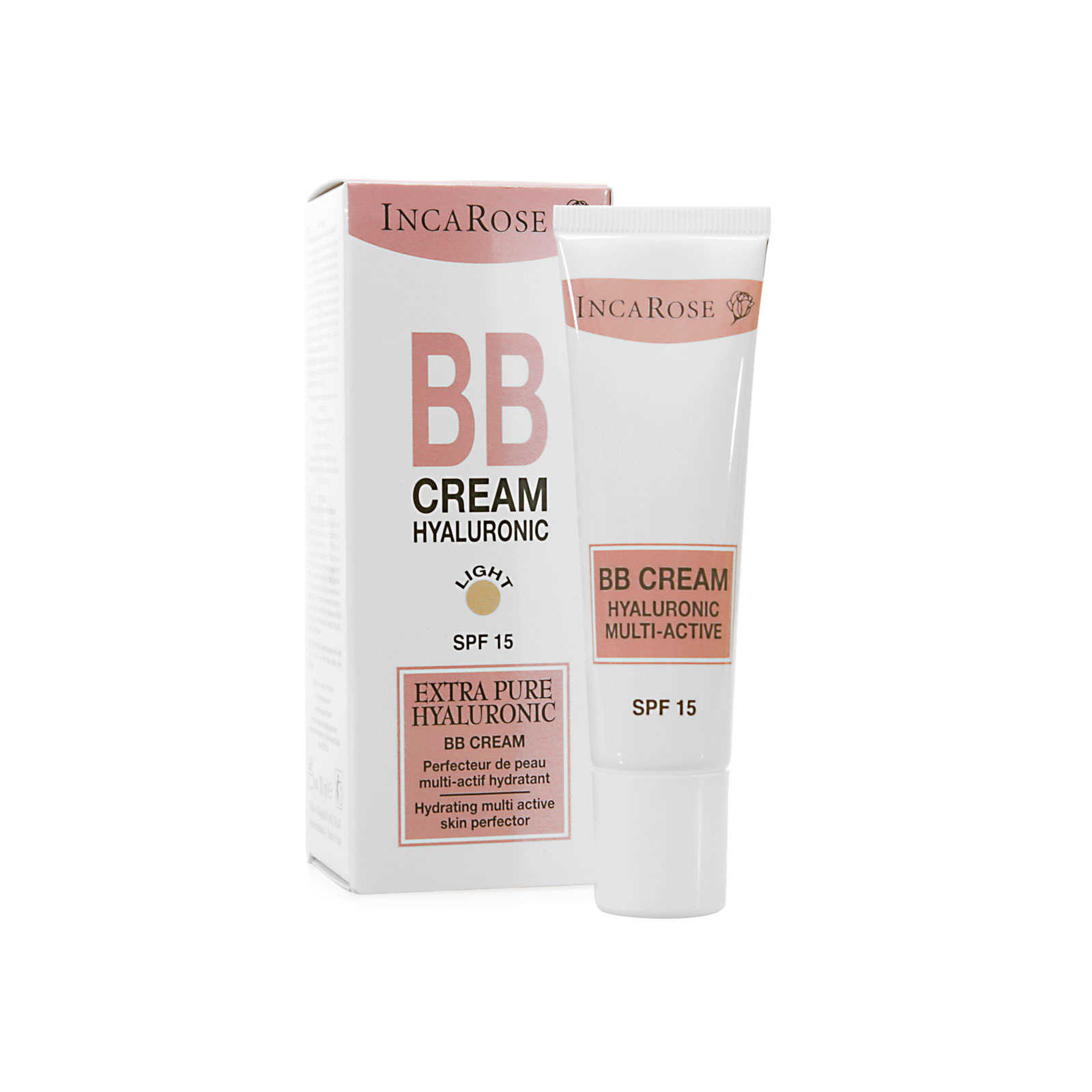 Incarose - BB Cream Hyaluronic - Light