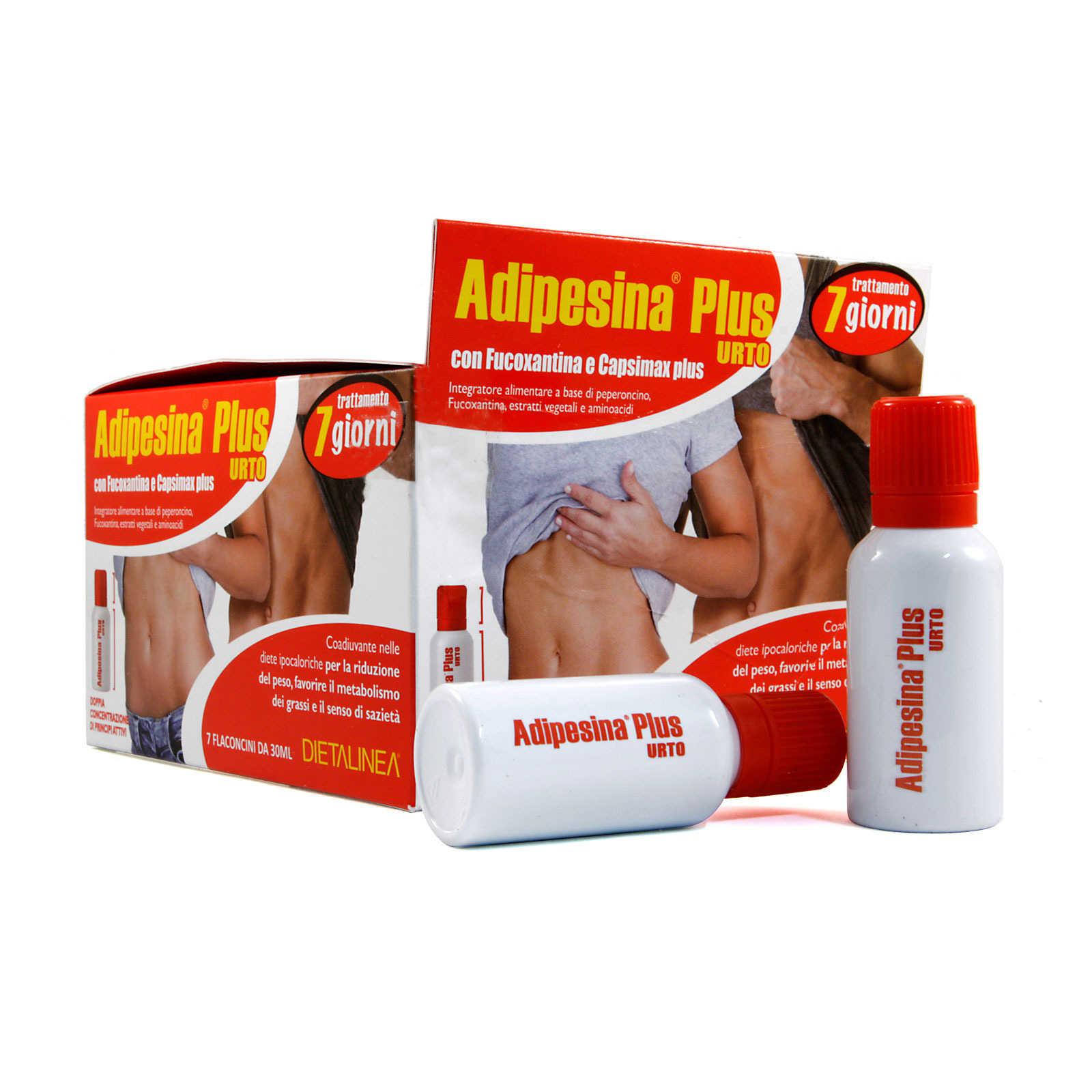 Adipesina - Plus Urto - Trattamento 7 Giorni - Riduzione dei grassi