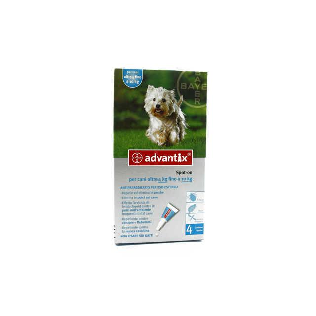 Advantix - Spot On - Cani 4-10 Kg.