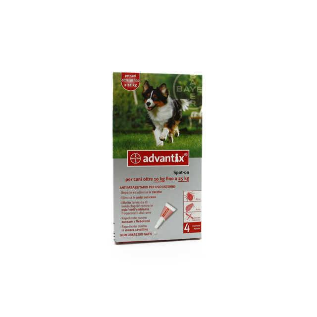 Advantix - Spot On - Cani 10-25 Kg.