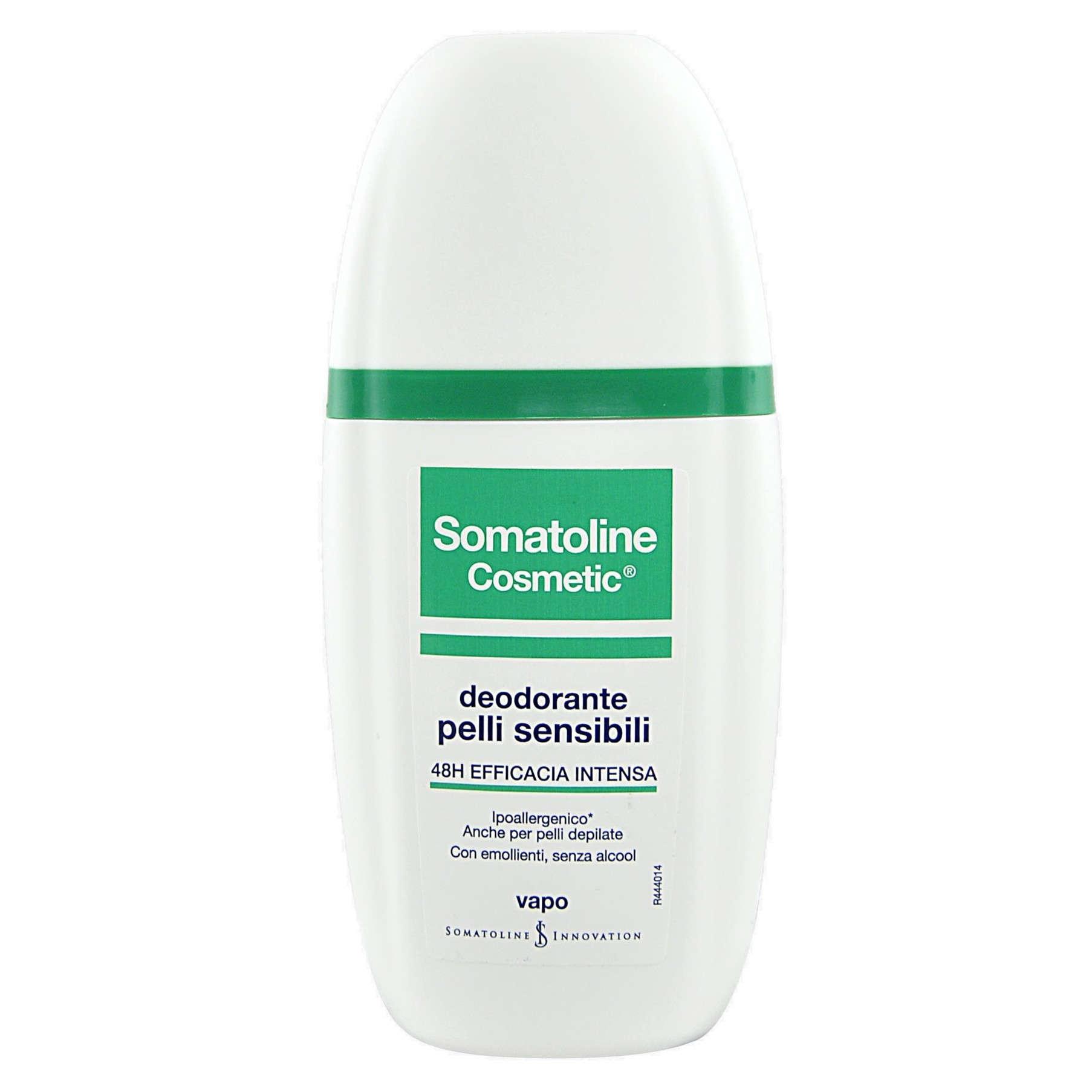 Somatoline - Deodorante Vapo - Pelle sensibile o depilata