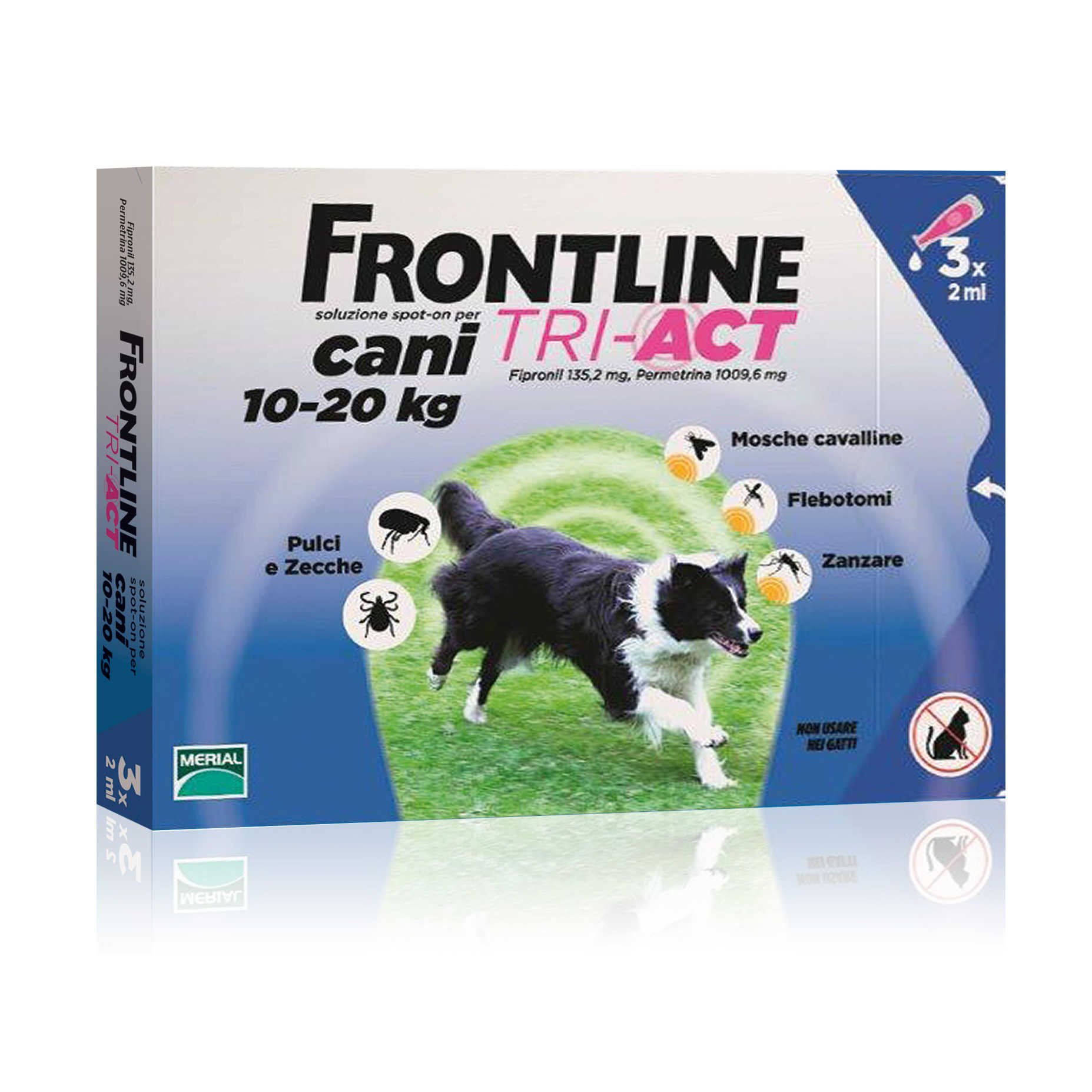Frontline Combo - Tri Act - Cani 10-20 kg
