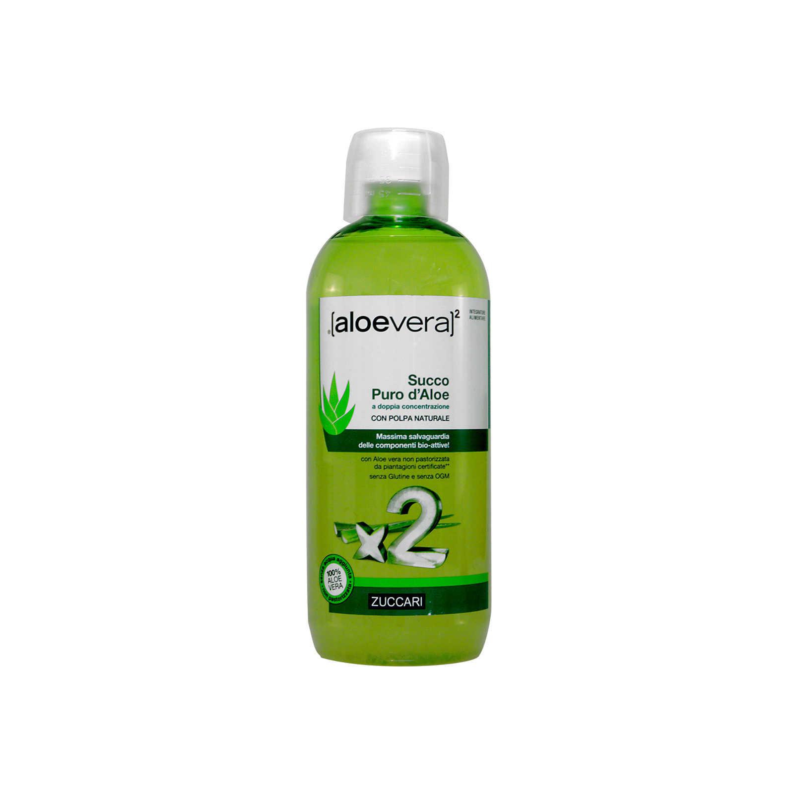 Zuccari - Aloevera - Succo puro d'Aloe