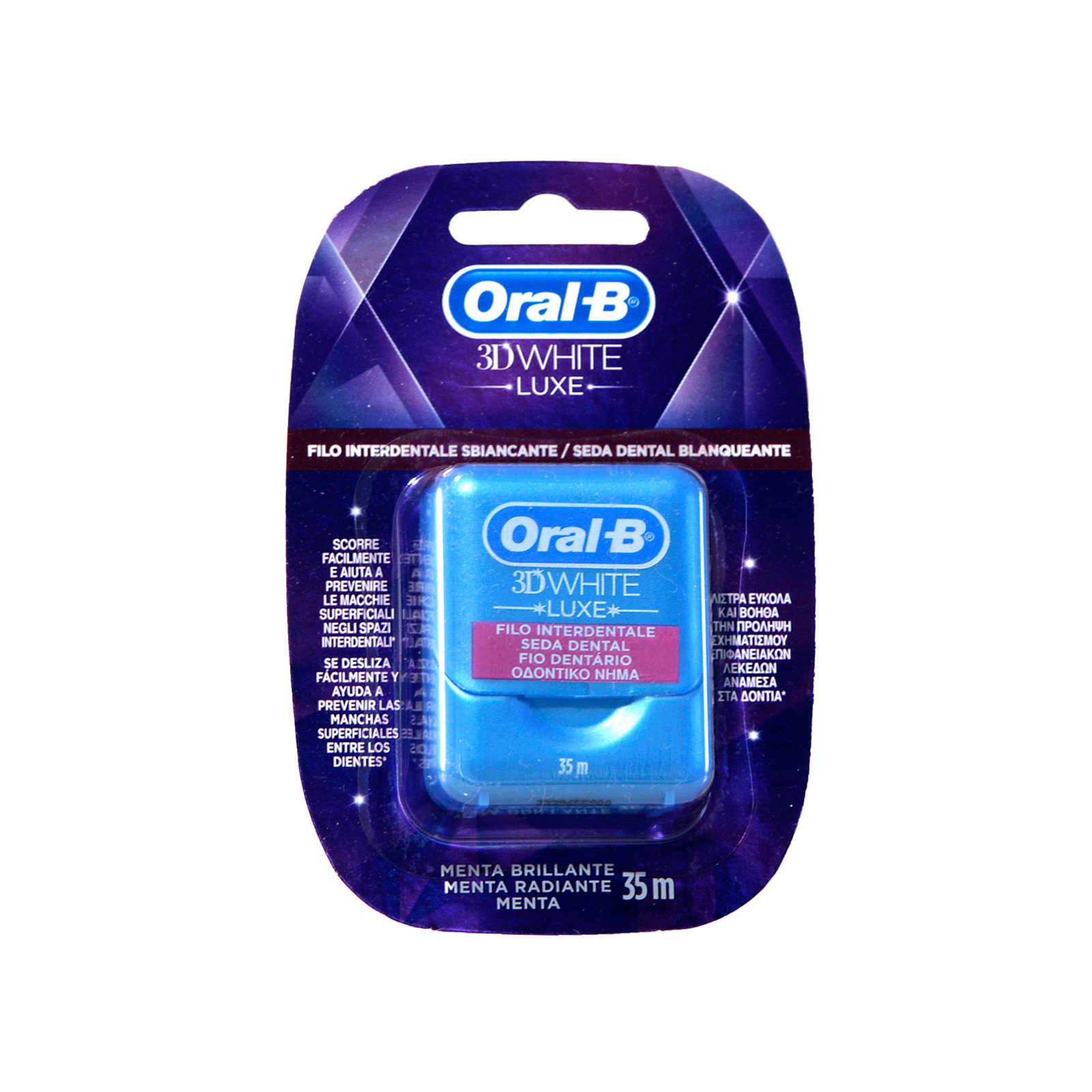 Oral-b - Filo interdentale - 3D White - Luxe