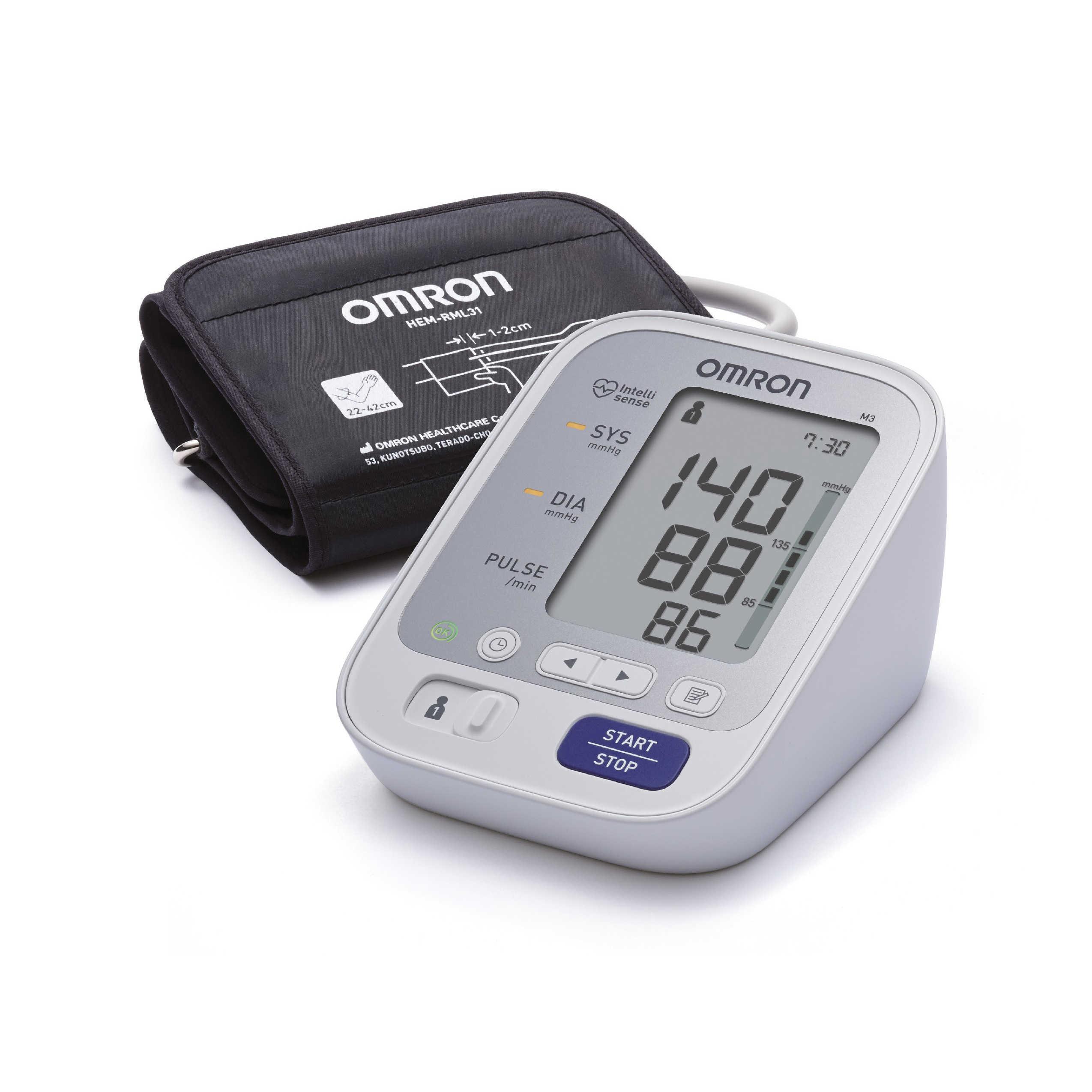 Omron - Misuratore automatico  di pressione - M3 Intellisense