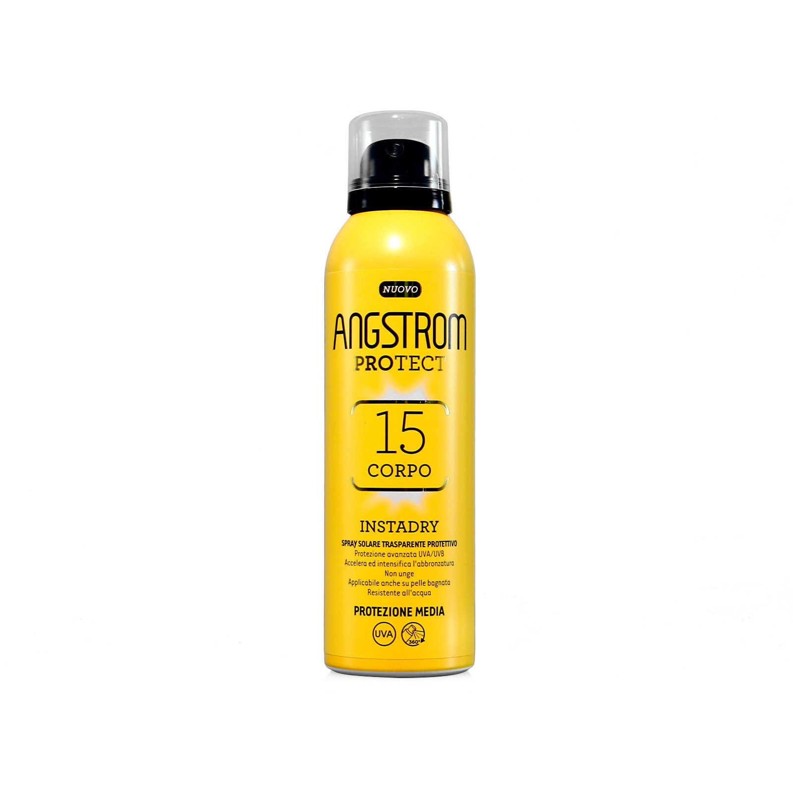 Angstrom - Protect - Spray Corpo abronzante Instadry SPF15
