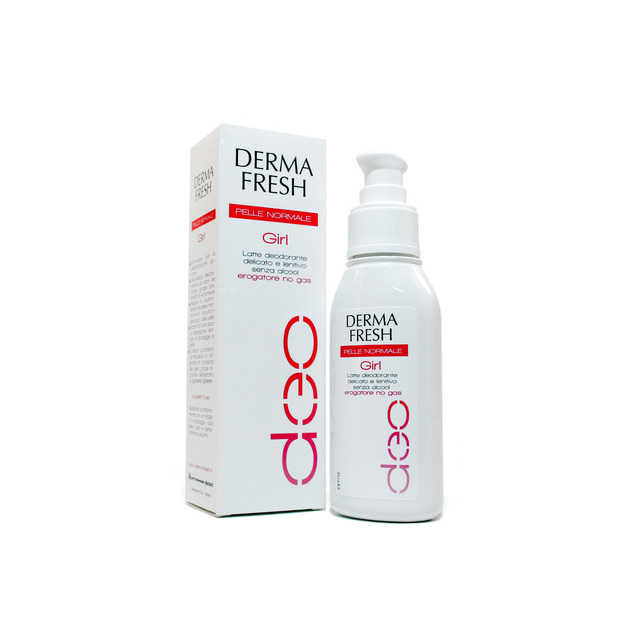 Dermafresh - Latte deodorante lenitivo e delicato - Girl - Pelle Normale