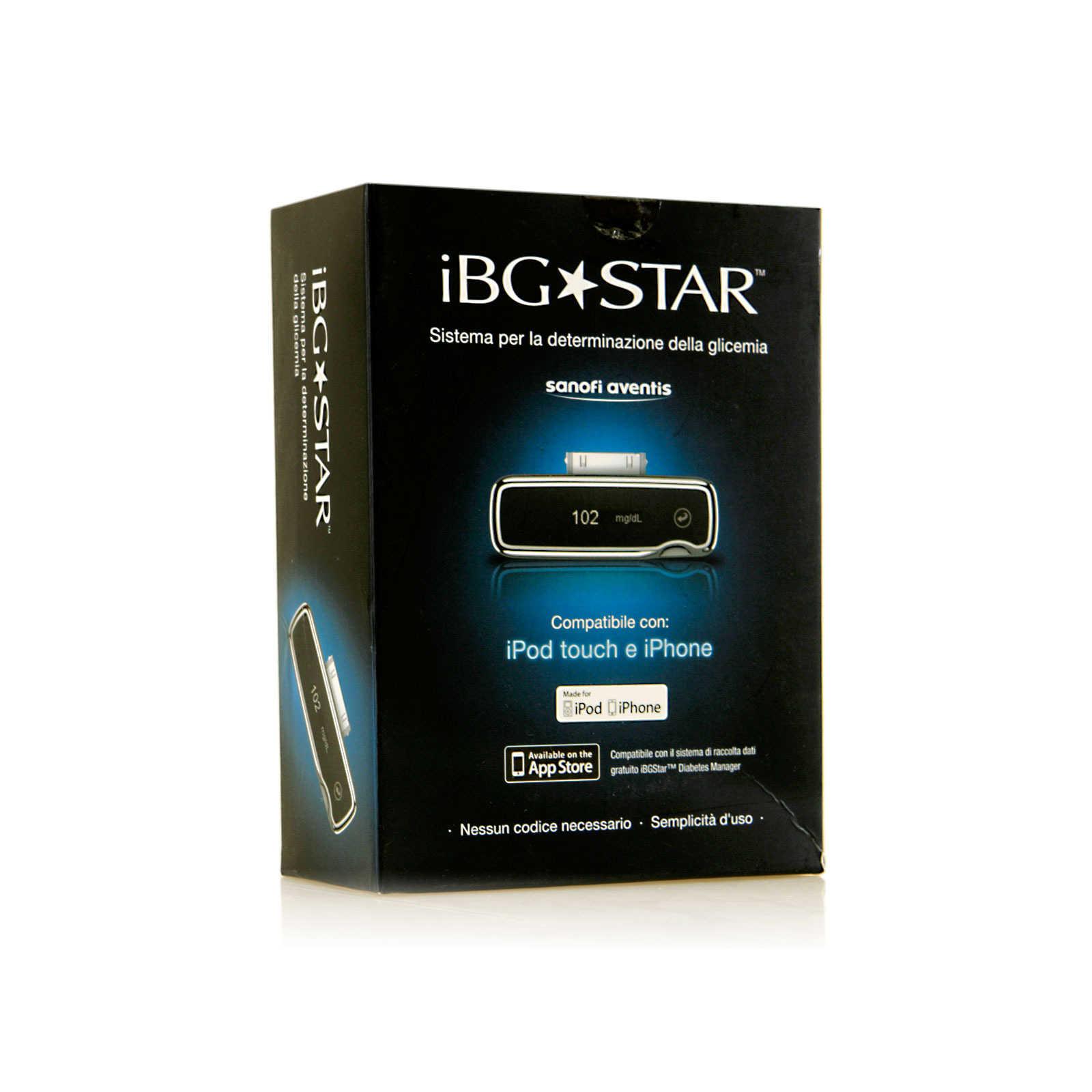 Bgstar - Misuratore di glicema per iPhone, iPod e iPad