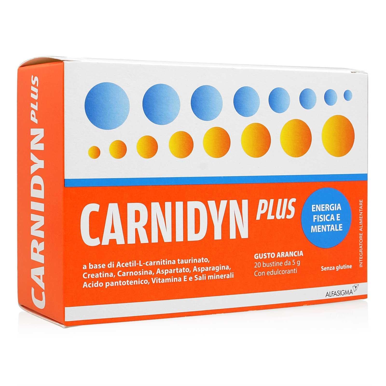 Carnidyn Plus - Bustine