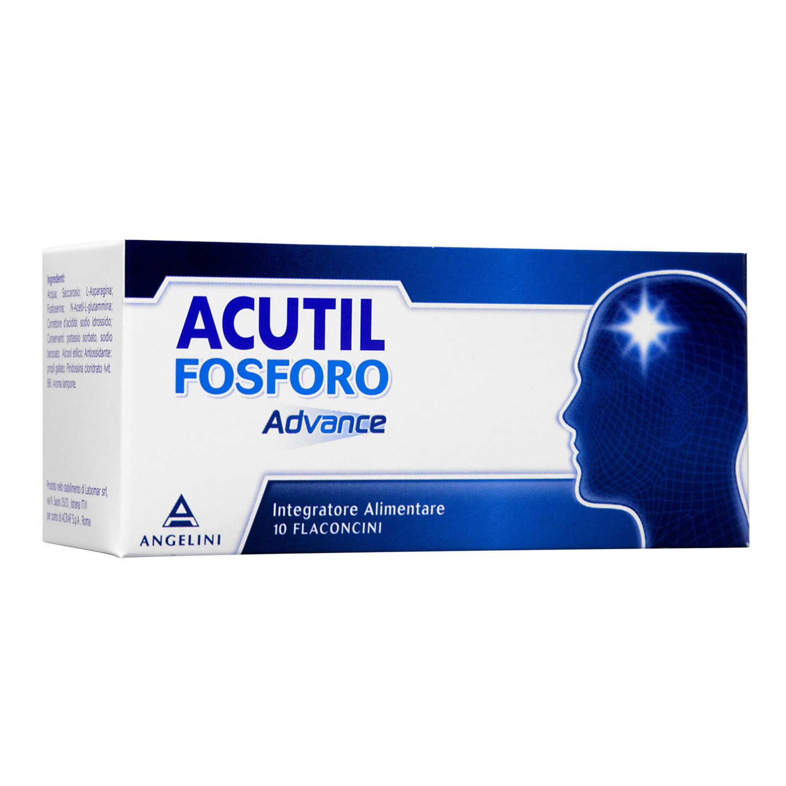 Acutil - Fosforo Advance in Flaconcini