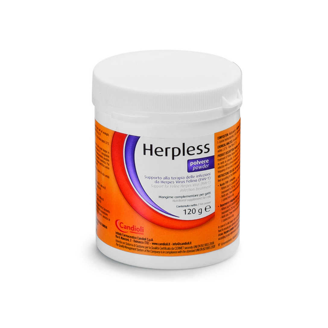 Candioli - Herpless - Polvere 120g - Mangime complementare