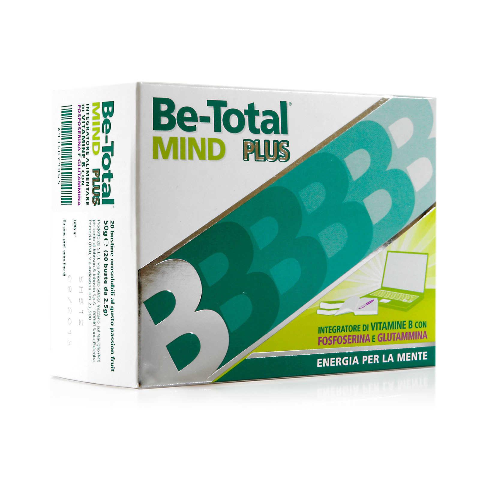 Be-total - Integratore alimentare - Mind Plus