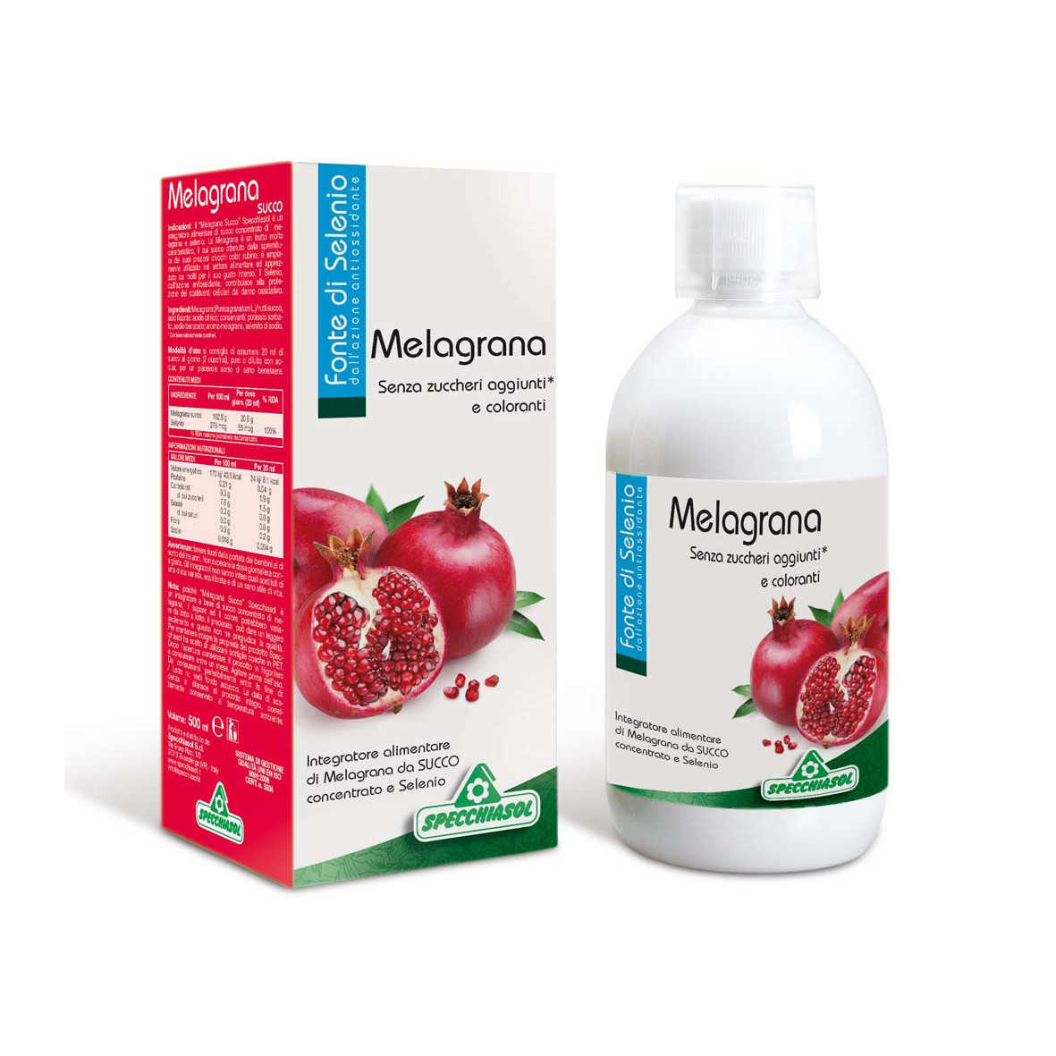 Specchiasol Succo di Melagrana - con Selenio