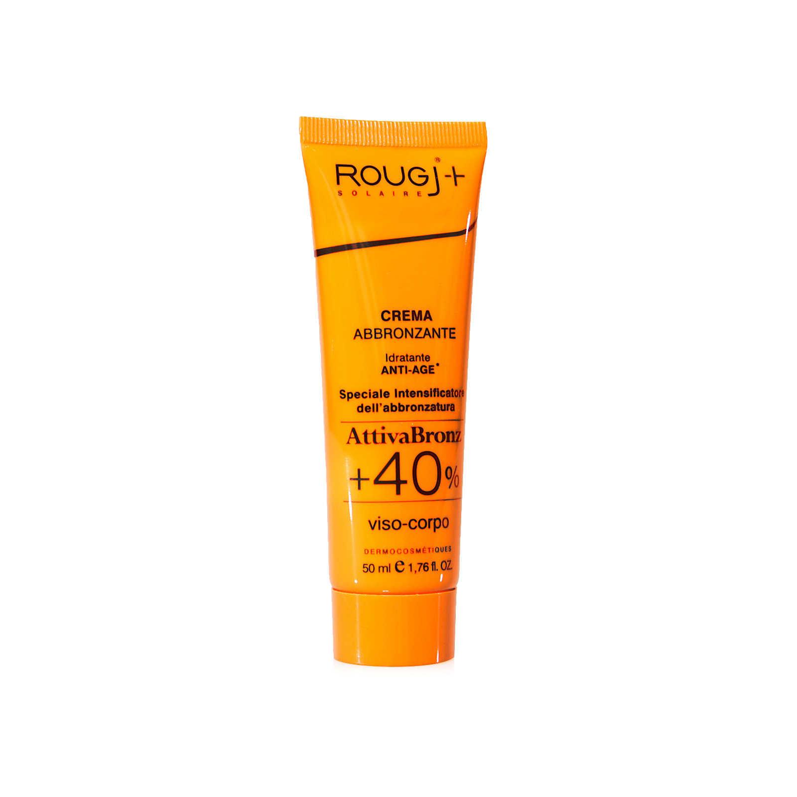 Rougj - Attiva Bronz +40% - Crema abbronzante 50ml