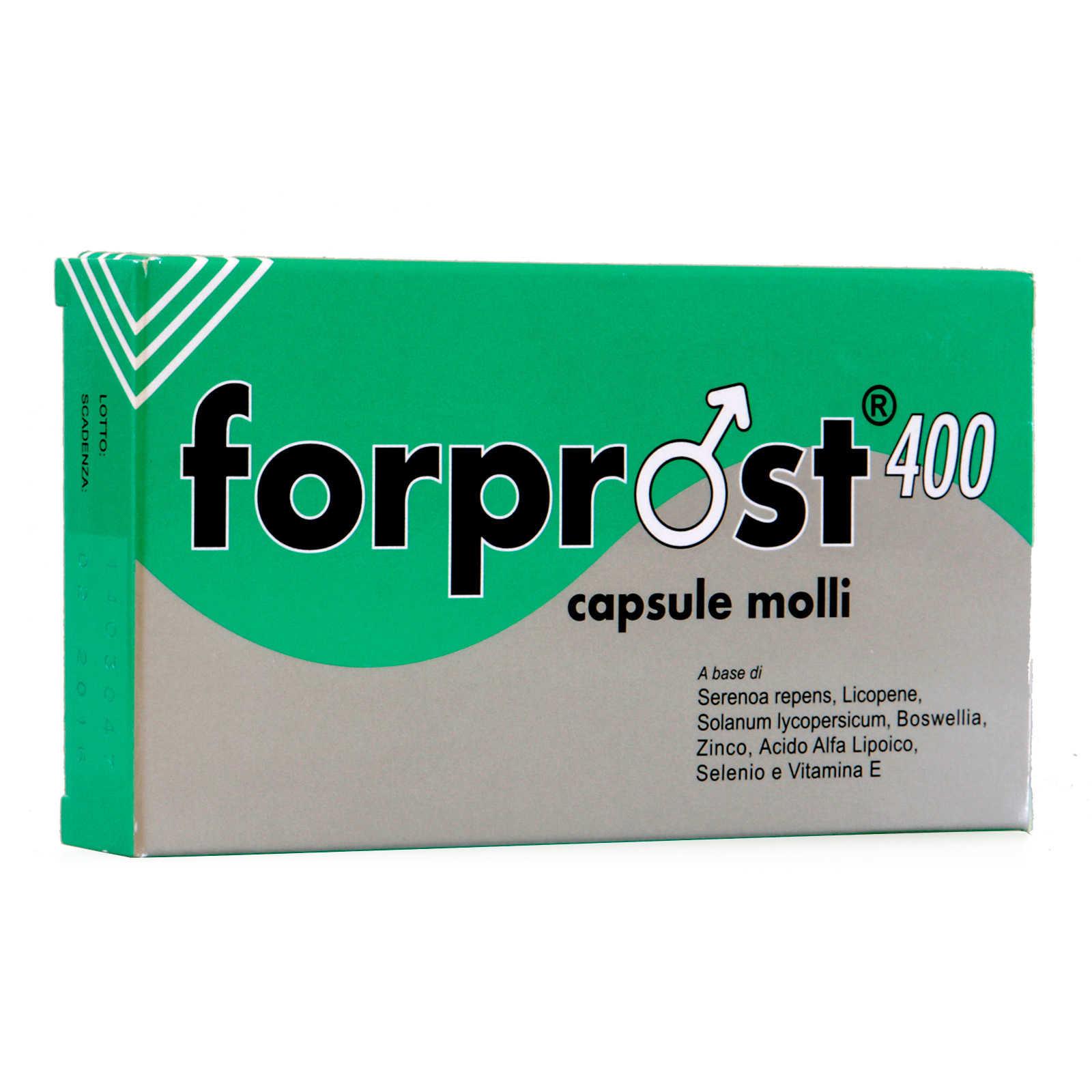 Forprost - Coadiuvante delle funzioni della prostata - Capsule molli