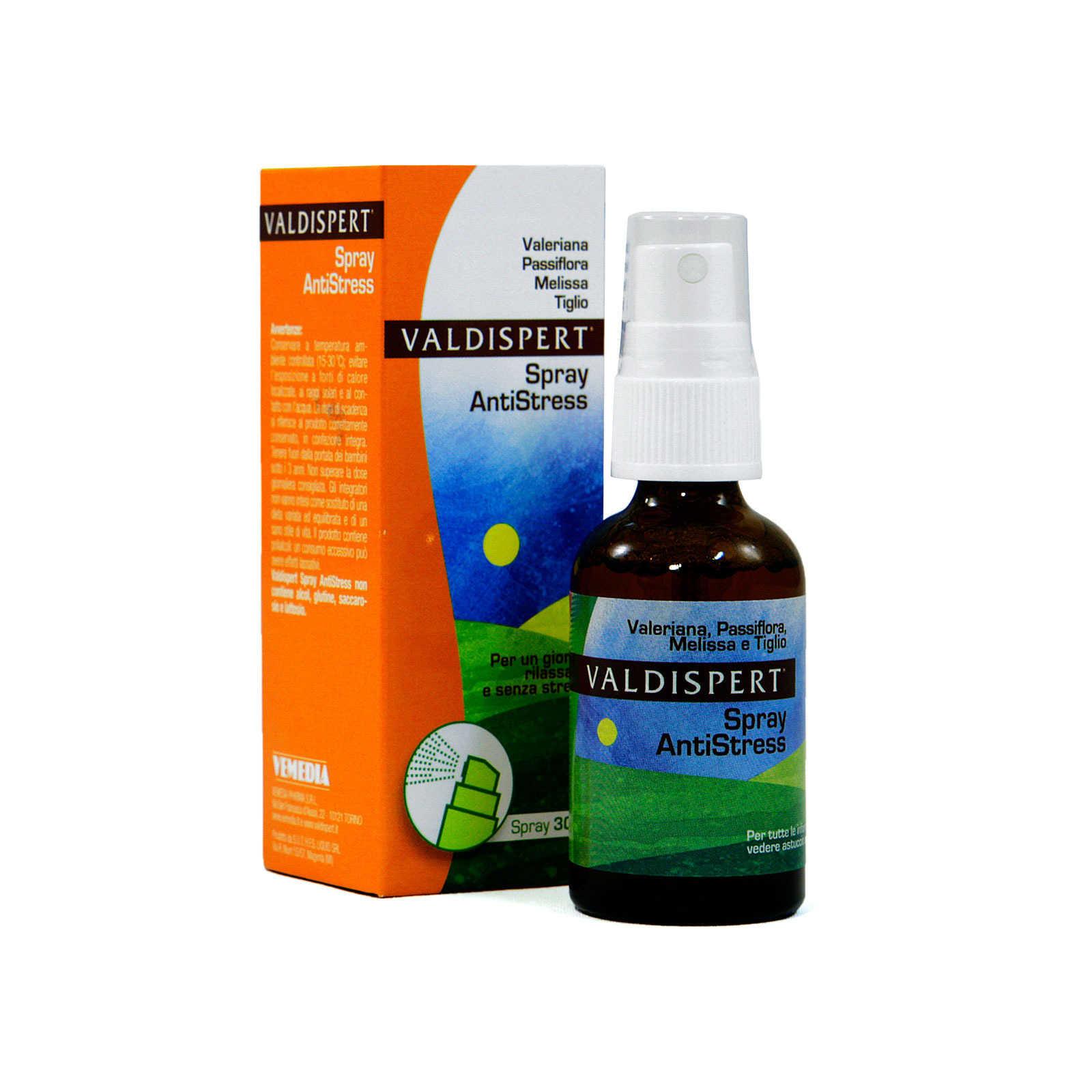 Valdispert - Integratore alimentare - Spray Antistress