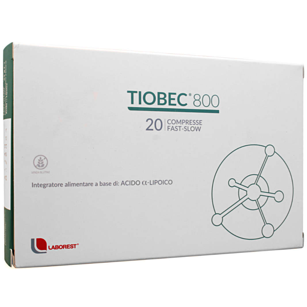 Tiobec - 800 - Compresse Fast Slow