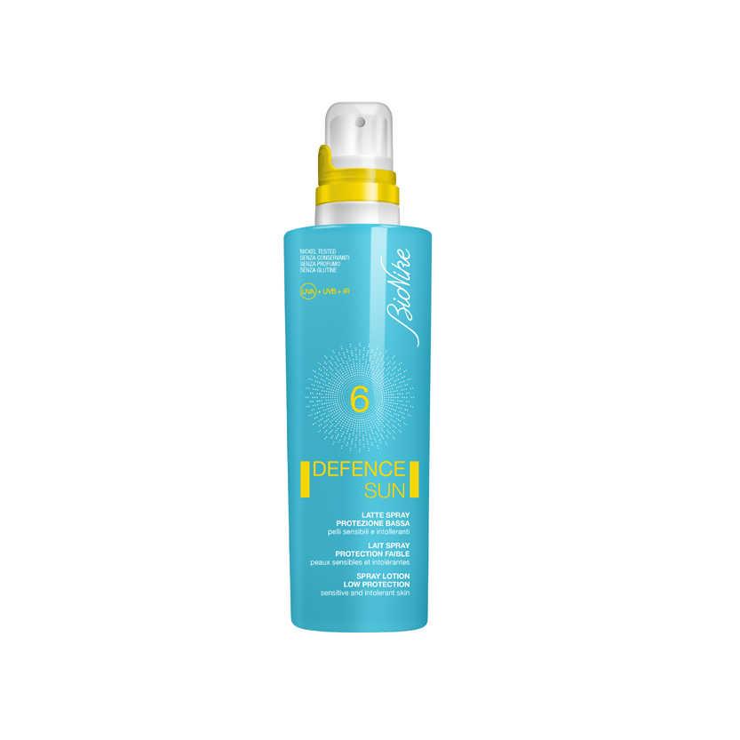 Bionike - Latte protezione solare spray - Defence Sun SPF6