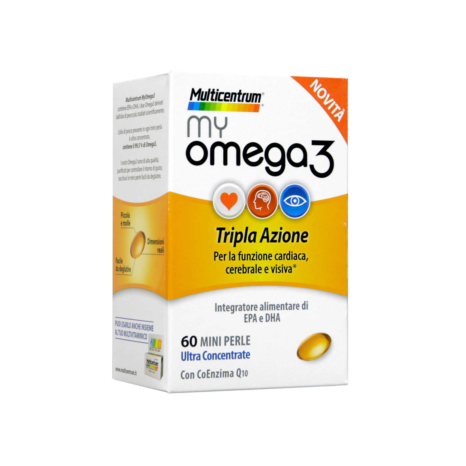 Multicentrum - my Omega 3 - Integratore Alimentare