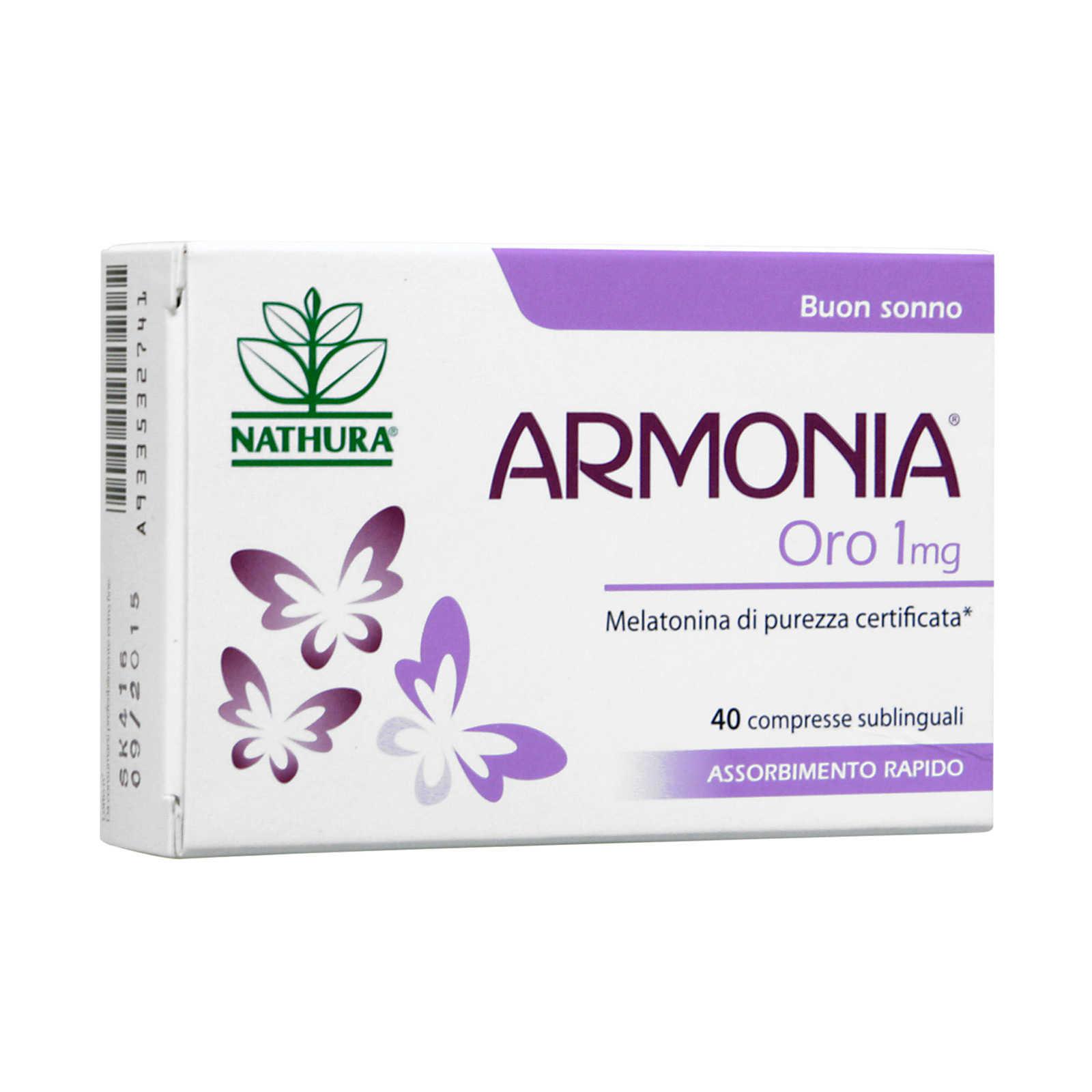 Armonia - Oro - Compresse Orosolubili