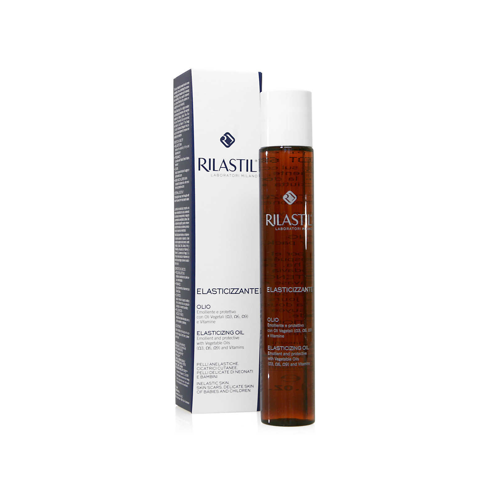 Rilastil - Olio Emolliente e protettivo con Oli Vegetali e Vitamine
