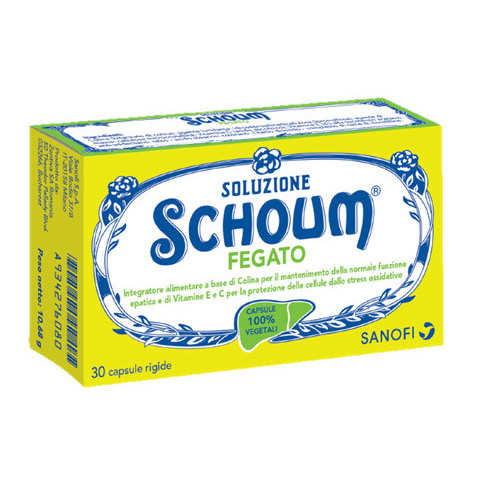Soluzione Schoum - Fegato - Integratore Alimentare