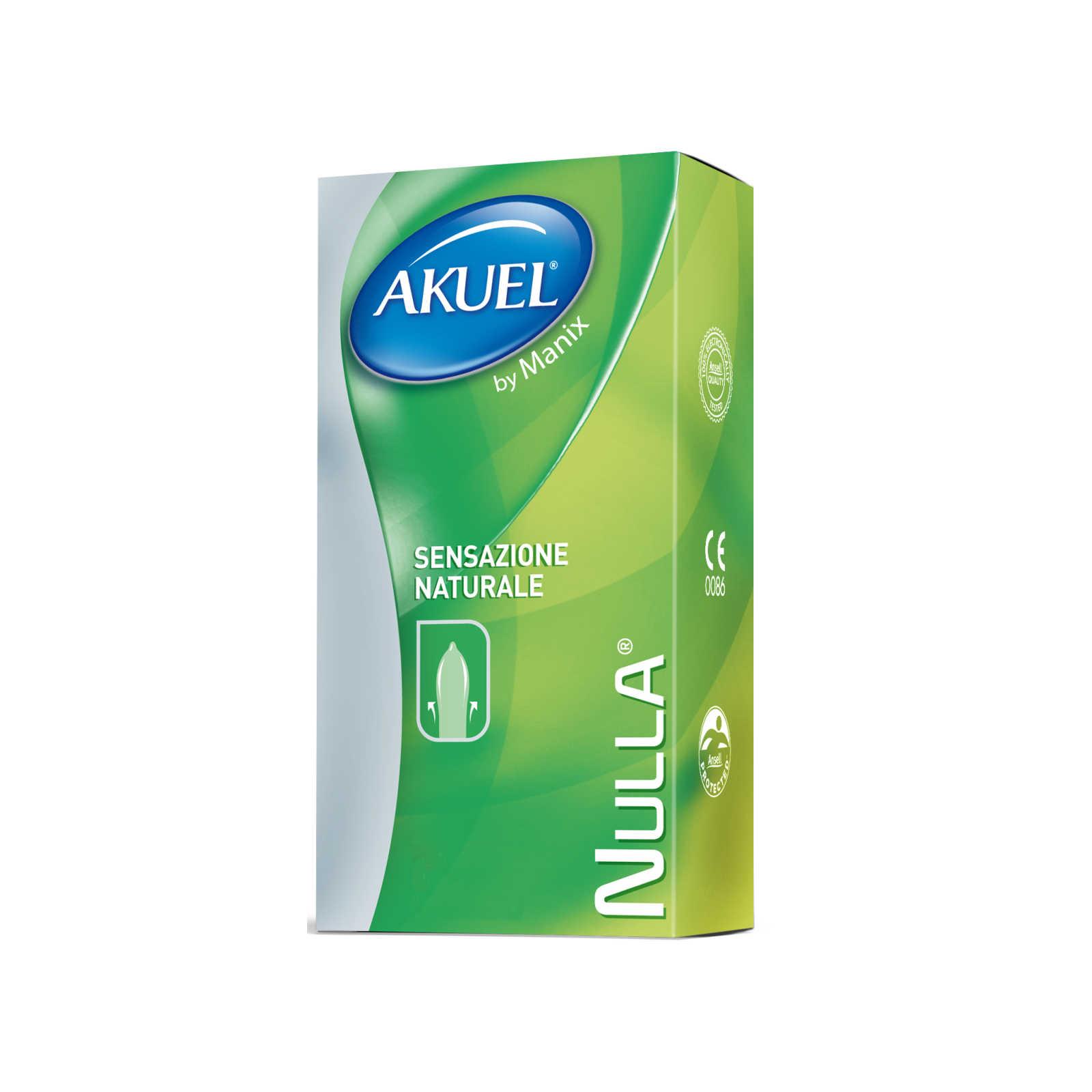 Akuel - Nulla - Profilattici 6 Pezzi
